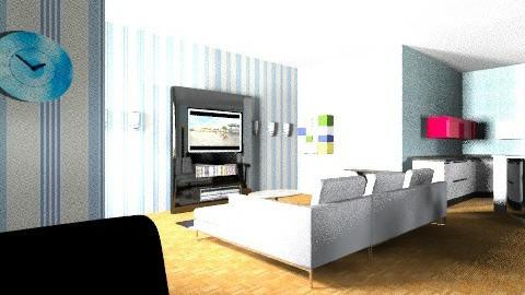 Mi Casa just for me - Minimal - by Nhezart Designs