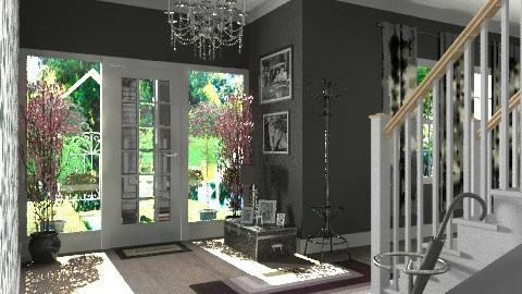 Suburban Front Entrance - Modern - by deleted_1519128424_HeatherInWonderl