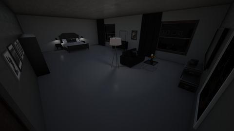 black - Modern - Bedroom - by waad702