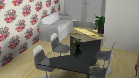 PinkDiningRoom - Dining Room  - by yasemin04