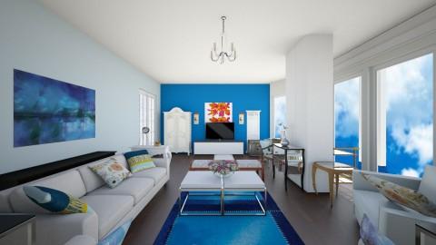 Living12a - Living room - by hala amroussy