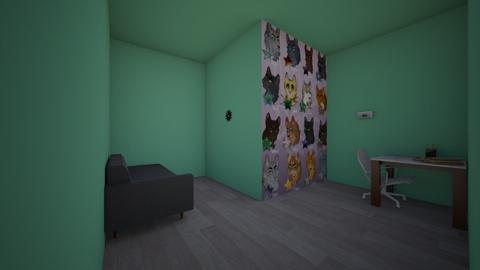 Erin Hunters studio - Office - by Tigerstar101
