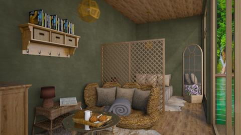 beehouse - Living room  - by daydreamer84