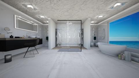 j - Bathroom  - by mariateresadrago
