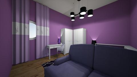 purple nurble - Bedroom  - by mohm43