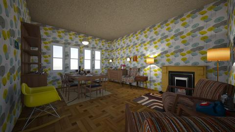 midcentury dining room - Retro - Dining room  - by PeculiarLeah