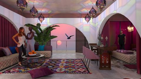 Lockdown - Living room  - by chania