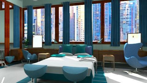 arne jacobsentest2 - Retro - Bedroom  - by mikaela7