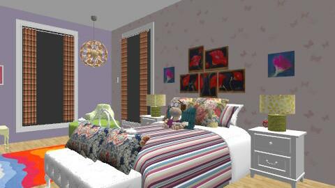 pre-teen Paradise - Retro - Bedroom  - by Wilson Jessica