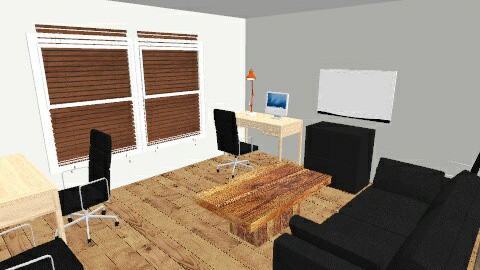 LvgRm to HomeOff - Eclectic - Office  - by SBumgard