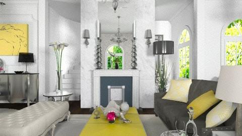 Modern Regency - Eclectic - Living room  - by Baustin