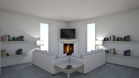 living room - Modern - by awesomegirl89