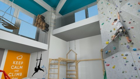 Climb On - Kids room  - by lauren_murphy