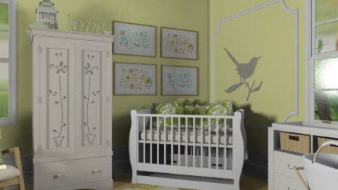Yellow Nursery - Classic - Kids room - by reedj0218
