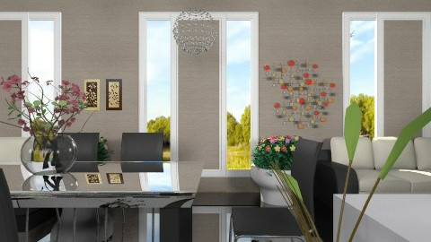 Modern Longhouse - Modern - Living room  - by Luisy
