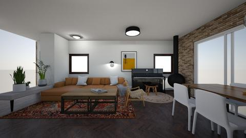 Limor W 2 - Living room  - by erlichroni