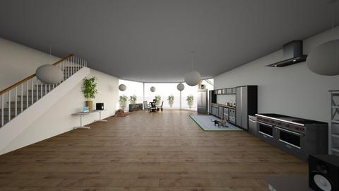 HugoH - Living room  - by kosmonaut