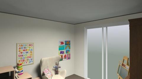 Playroom - Retro - Kids room  - by lauralouisebrown
