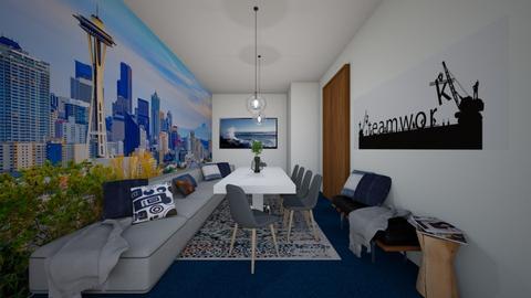 Modern conference room - by bgref