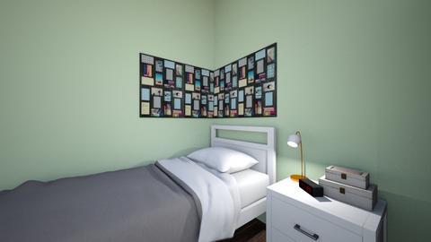 mijn slaapkamer  - Modern - Bedroom  - by Eline De Meulenaer