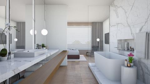 modern bath - Minimal - Bathroom  - by gsmi2057