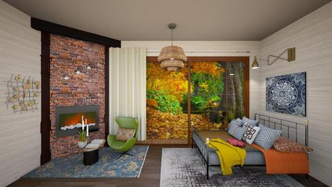 Autumn Bedroom - Bedroom  - by gefenkl