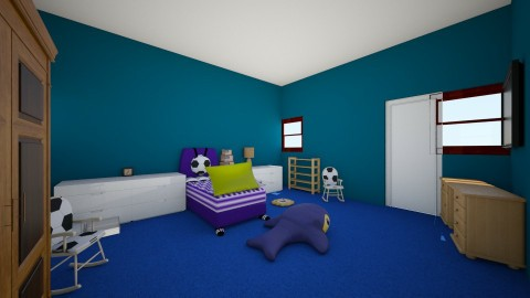 Little Boys Room - Kids room - by suede12345