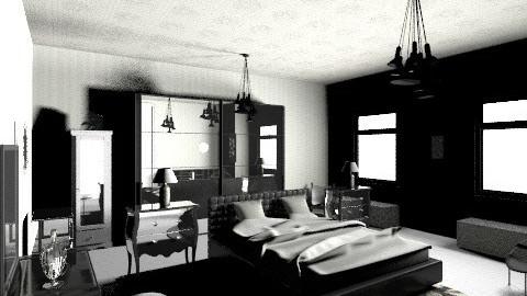 twotone bedroom - Minimal - Bedroom  - by dcheline