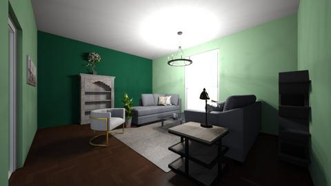 Green Room 2 - Living room  - by Natalie Pearson
