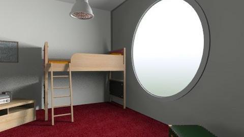 Old modern - Retro - Kids room  - by stefitojen