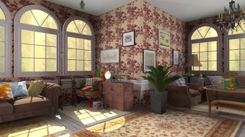 Vintage 2 - Vintage - Living room  - by hetregent