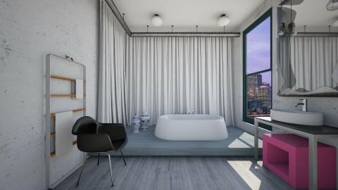Industrial Splash - Modern - Bathroom  - by 3rdfloor