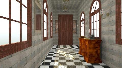 Game of Thrones Corridor - Rustic - by devonsia