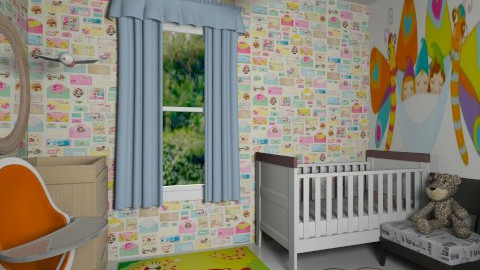 my baby boo - Modern - Kids room  - by Veny Mully