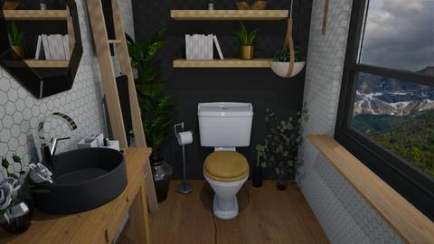 Arty Toilet Room - Bathroom  - by lealaurenbagari