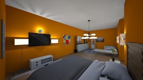 h - Bedroom  - by CelesteOwO