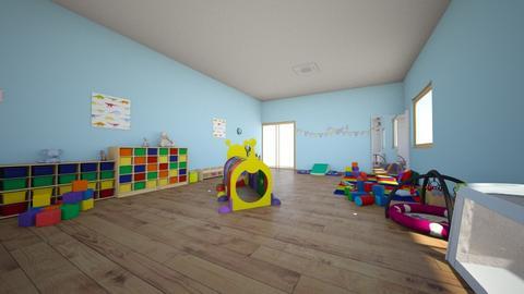 Aula  - Kids room  - by anamaria111