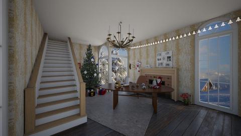 Christmas Time - Modern - Living room  - by Han Jisung