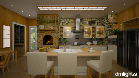 Home Hearth - Kitchen  - by Lackew