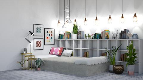 Eclectic - Eclectic - Bedroom  - by evabarrett