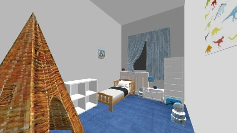 Pokoj Franka - Classic - Kids room  - by angelakap