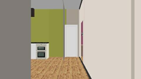 3x3 kitchenh - Glamour - Kitchen  - by vanesags