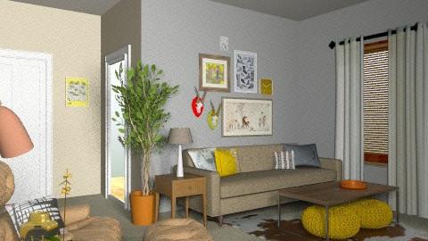 Elliott Lounge - Vintage - Living room - by MaryFerrisFDC