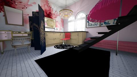 Marinettes room - Bedroom  - by kiwimelon711