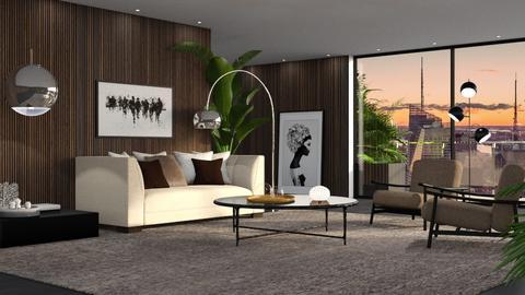 430 - Minimal - Living room  - by Claudia Correia