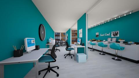 Teal Container Office - Office  - by Annalise_585333