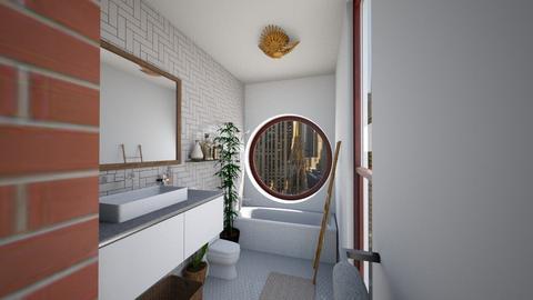 Warm Tones - Bathroom  - by nkanyezi