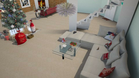 Christmas Morning - Glamour - Living room  - by interiordesignmajor013