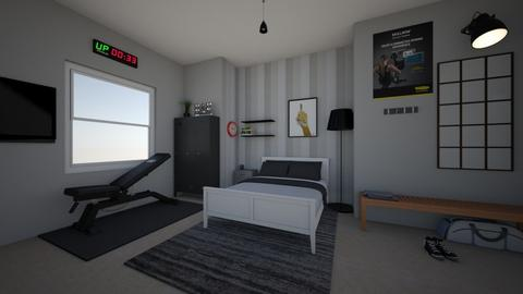 Sports Fan Room - Bedroom  - by jadebeal
