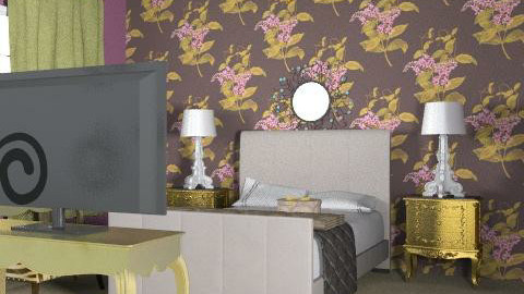 THAYZA - Retro - Bedroom  - by thayzaediego